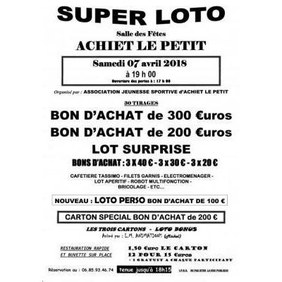 super loto organisé par la JSA