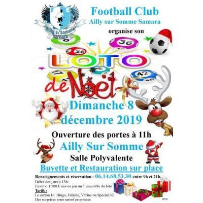 Loto de Noël  du FC Ailly sur Somme Samara