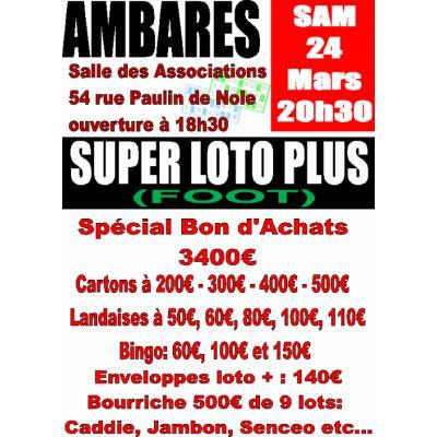 Super Loto Bon d'Achats