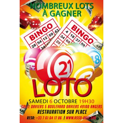 Grand lotot de l'association BAIE