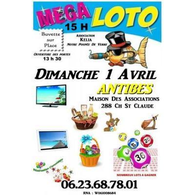 loto association kelia notre poupee de verre nombreux lots tv,tablette,panier