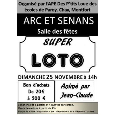 loto de l'APE des P'tits Loue