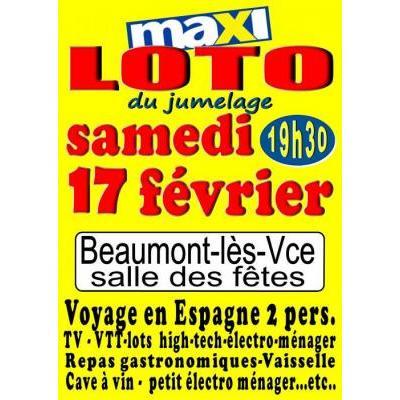 Loto 26 dr me toutes les dates annuaire des lotos for Piscine beaumont les valence