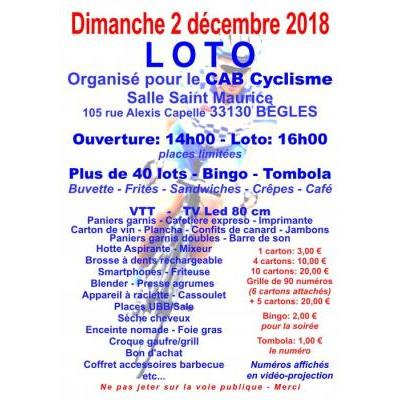 Loto du C A Béglais Cyclisme