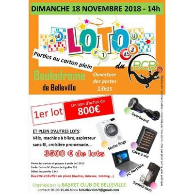 Grand Loto du Basket Club de Belleville
