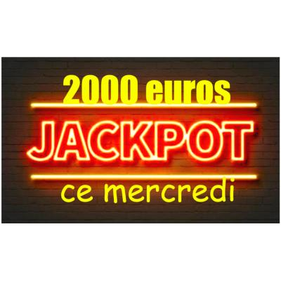 Super Loto Quine Mercredi 17 Octobre 20H45 Bergerac Dordogne Jackpot 2000 euros