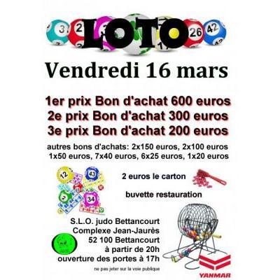 Loto du SLO Judo Bettancourt