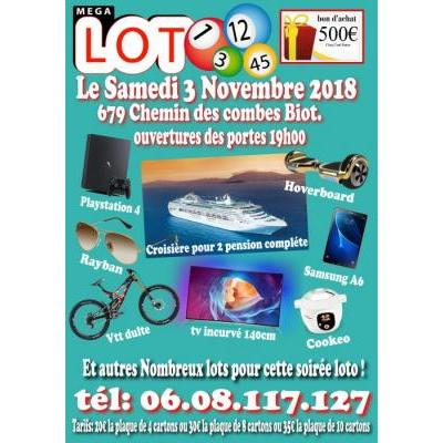 Méga Loto avec Croisère, tv uncurved 140cm, Ps4 (voir liste)