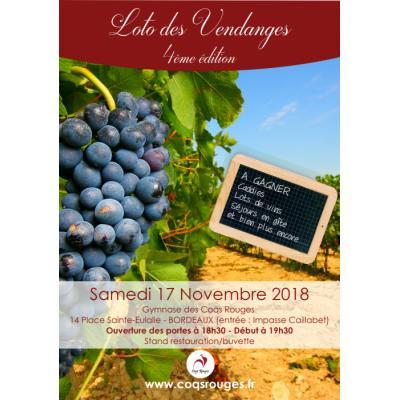 Loto des Vendanges de Bordeaux