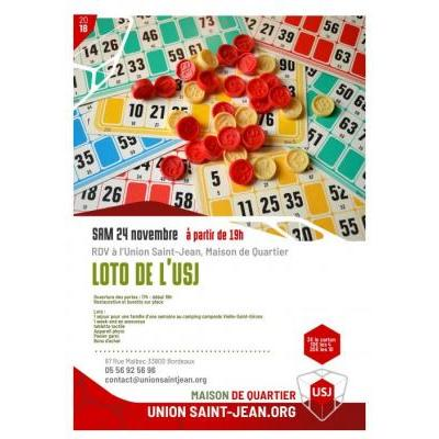 Grand loto du foot de L'Union Saint Jean
