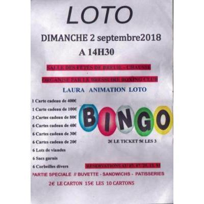 Super loto  Boxing Club Bressuire à Breuil-Chaussé