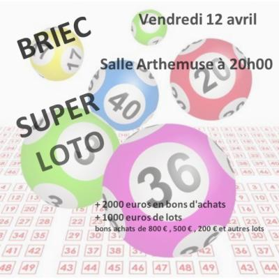 Grand LOTO du judo club briecois