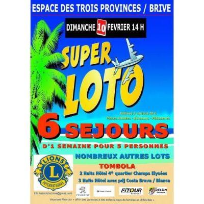 Super Loto Lions Clubs Brive Aubazine