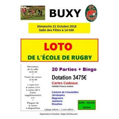 Loto de l'Ecole de Rugby