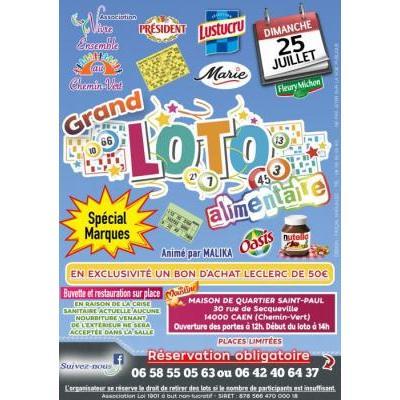 Grand Loto alimentaire spécial marques + Bon d'achat Leclerc de 50€