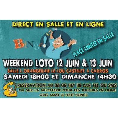 Loto samedi 12 juin  à Carros