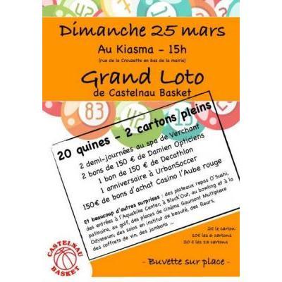 Grand Loto Castelnau Basket