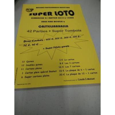 Super Loto du Basket (MCBB)