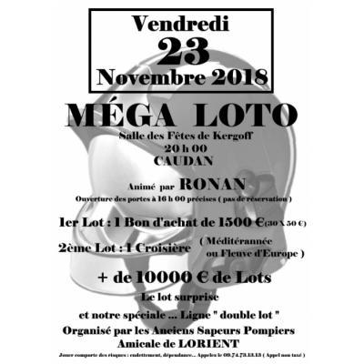 Méga Loto organisé par les Anc. Sapeurs Pompiers de Lorient