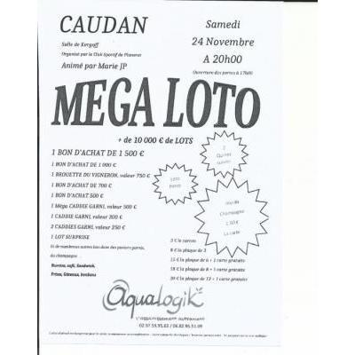 MEGA LOTO - plus de 10 000 euros de Lots, animé par Marie-JP
