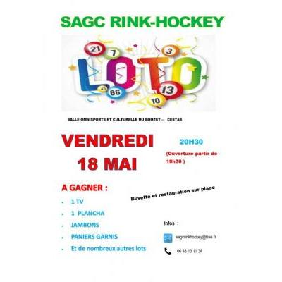 Super Loto SAGC RINK-HOCKEY