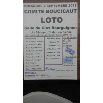 Super loto du Comité Boucicaut