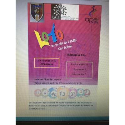 Loto organisé par étudiantes
