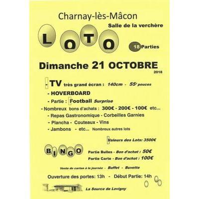 LOTO de la Source de Levigny à Charnay Les Macon