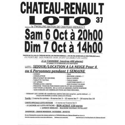 Lotos Twirling Bâton Château-Renault