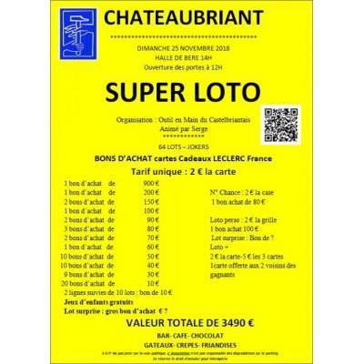 Super Loto de l'OEMC à Châteaubriant