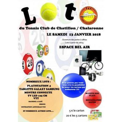 Loto du Tennis Club Chatillonnais