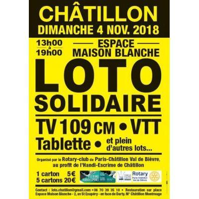 Loto du Rotary Club Châtillon