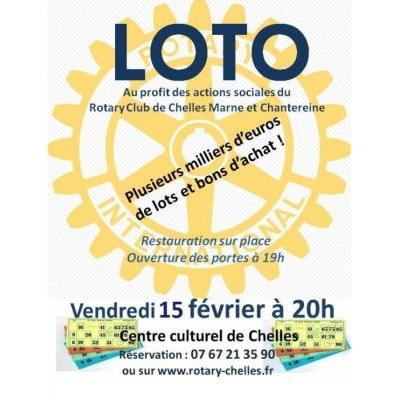 Grand LOTO du Rotary club de Chelles