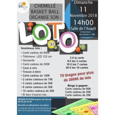 GRAND LOTO 3 000 € DE LOTS