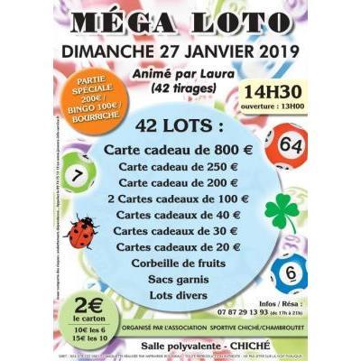 MEGA loto Association Sportive Chiché Chambroutet