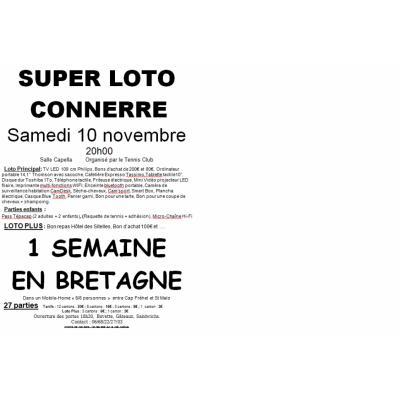 Super Loto 1 semaine en Bretagne dans un mobile-home 6/8 personnes.