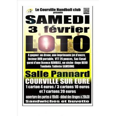 Loto Annuel du Courville handball Club