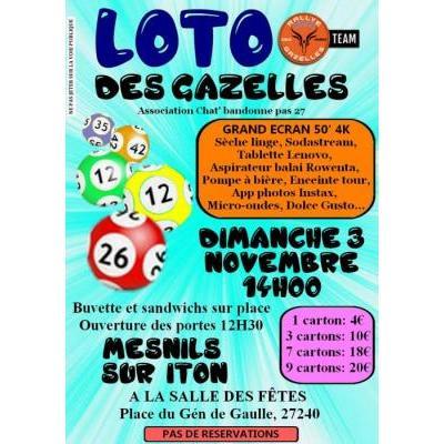 Grand Loto des Gazelles 3