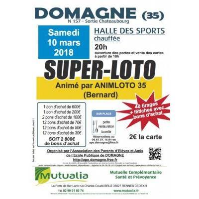 SUPER-LOTO Domagné (35)