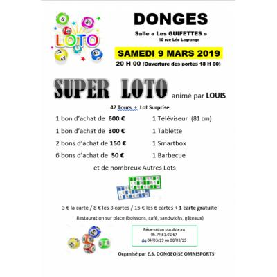 SUPER LOTO animé par Louis