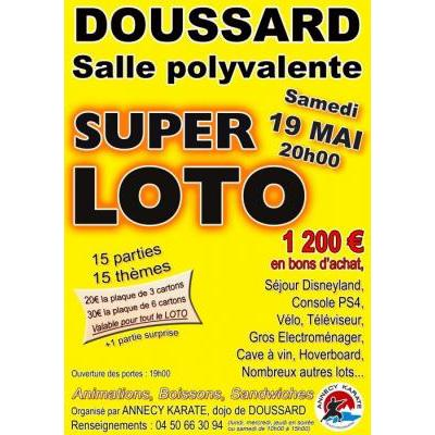 SUPER LOTO DU KARATE
