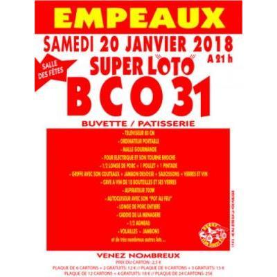 Affiche du loto à Empeaux (31) le 20/01/2018