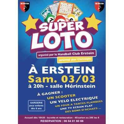 Super Loto du Handball Club Erstein