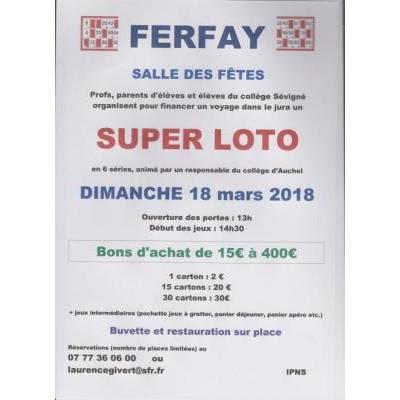 Super loto à Ferfay