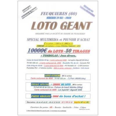 LOTO  10000€ DE LOTS