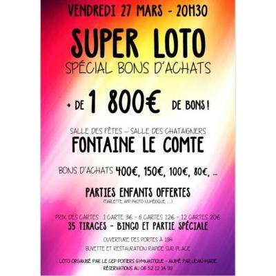 Super Loto spécial BONS D'ACHATS!