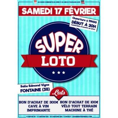 Super LOTO 17 Février FONTAINE