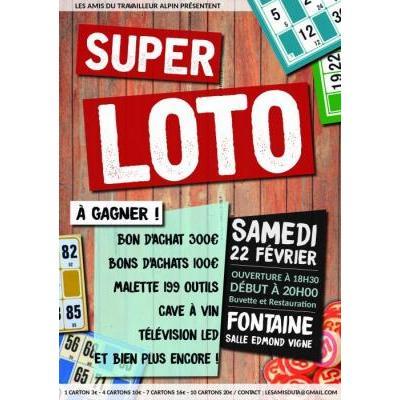 SUPER LOTO - 22 Février - Fontaine