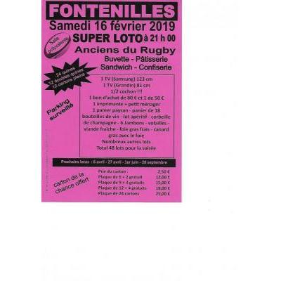 super loto de la saint valentin anciens du rugby