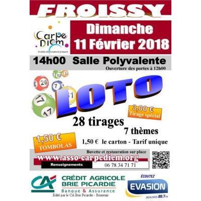 Loto Carpe Diem Froissy du 11 février 2018
